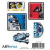 star wars stickers 16x11cm 2 sheets r2 d2 c3po x5 (2)