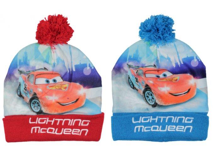 Zimní čepice Auta/Cars
