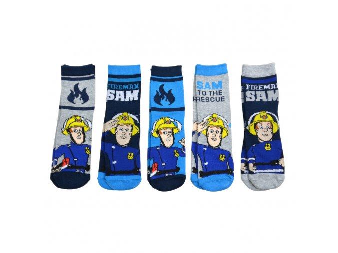 Feuerwehrmann Sam Kinder Jungen Socken 5er Pack Gr