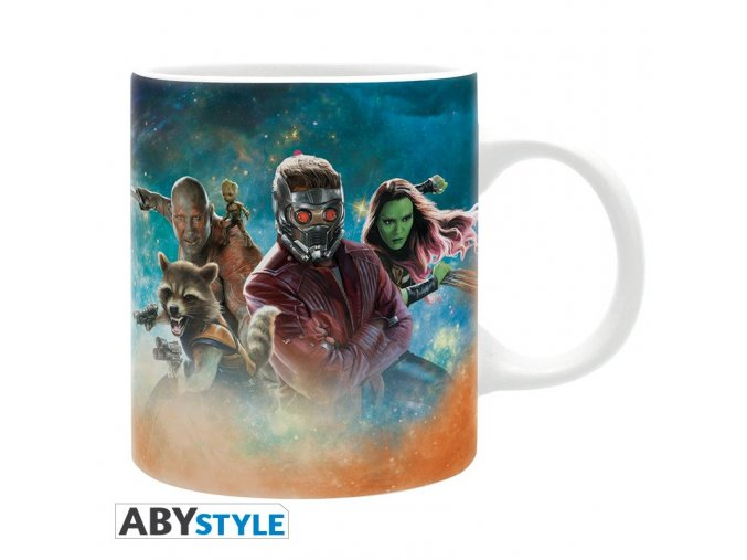 marvel mug 320 ml galaxy of colors subli with box x2