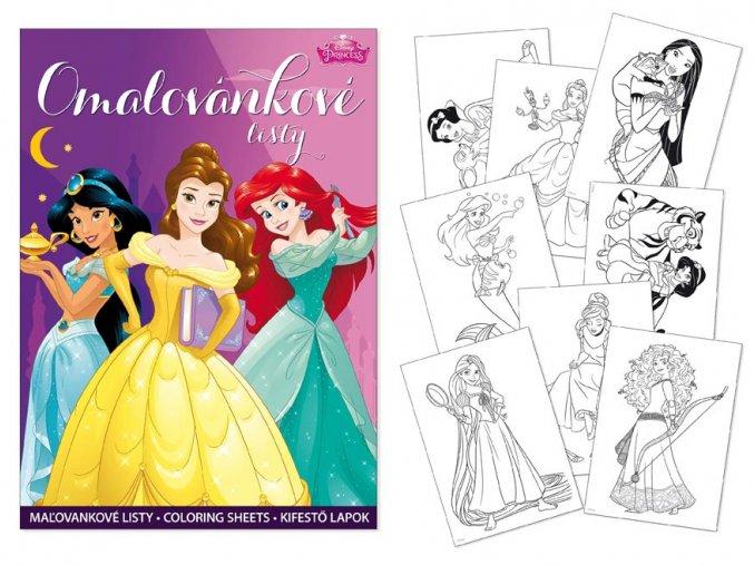 Omalovánky MFP A4 Disney (Princess)