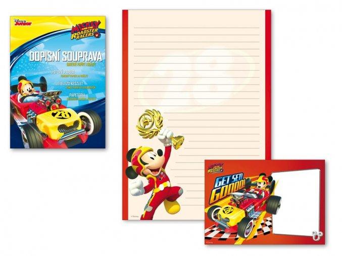 Dopisní papír barevný LUX 5+10 Disney (Mickey)