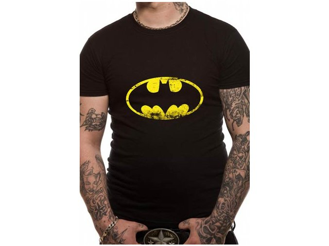 Tričko Batman - Distressed Logo