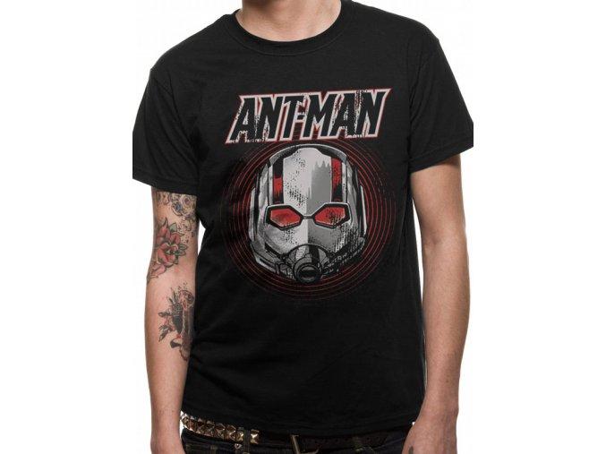 Ant-Man and the Wasp tričko Vintage Mask