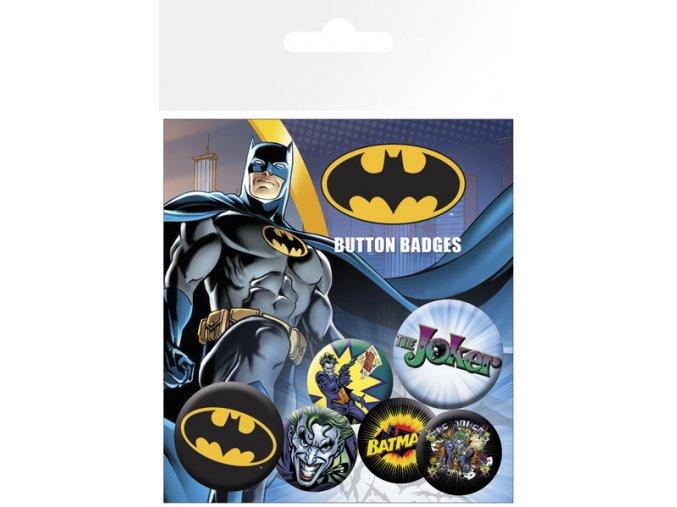 BP0470 BATMAN logo and joker
