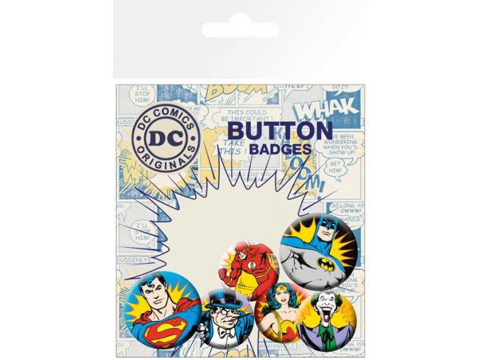 BP0580 DC COMICS heroes villains 1