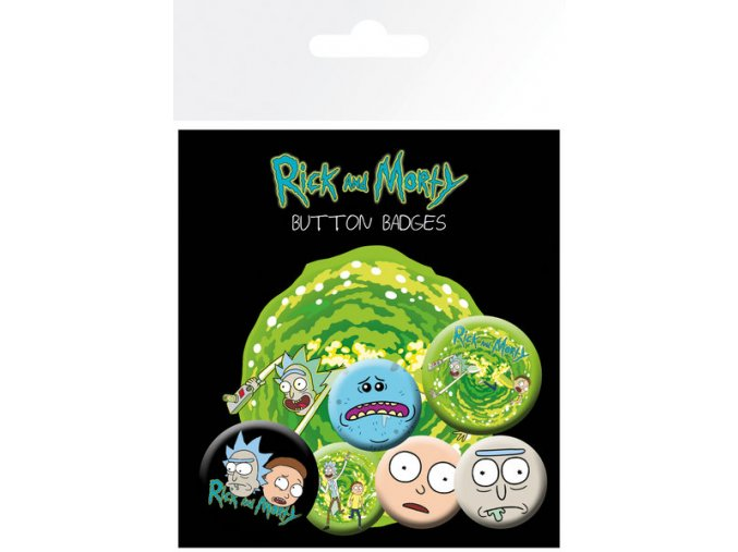 BP0694 RICK AND MORTY characters 1