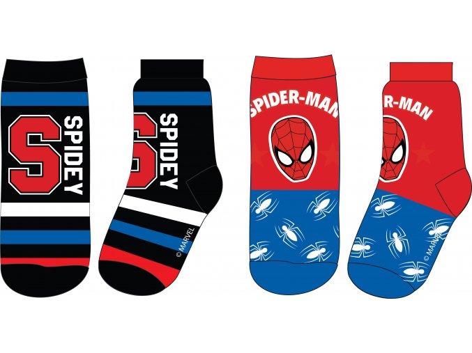 Ponožky Spiderman 3 ks