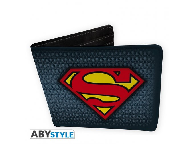 dc comics wallet superman suit vinyl