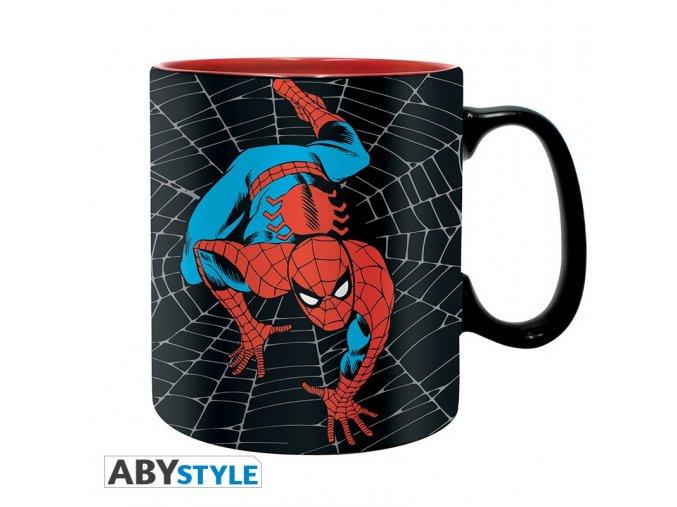 marvel mug 460 ml amazing spider man box x2