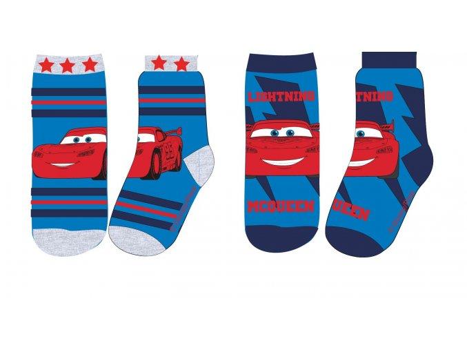 ponožky Cars modré