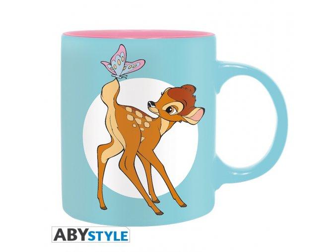 disney mug 320 ml bambi butterfly box x2