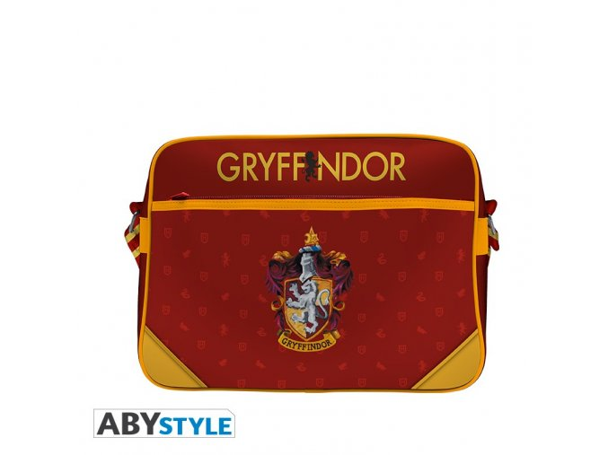harry potter messenger bag full print gryffindor vinyl