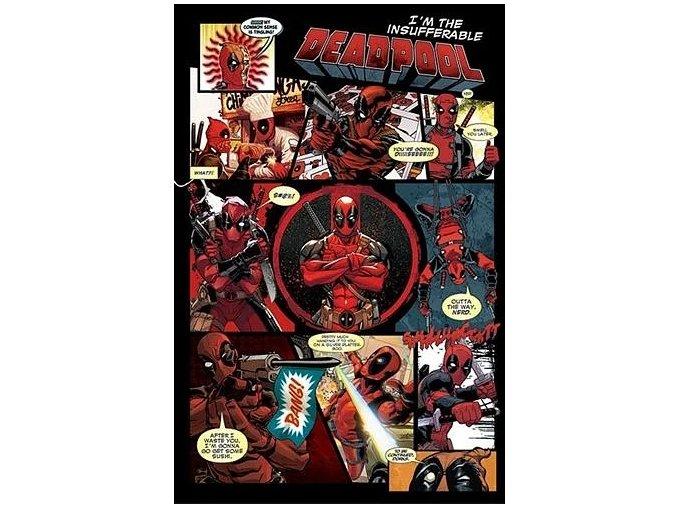 plakat deadpool panels 5f51b96a0cc63
