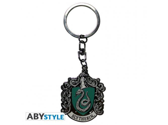 harry potter keychain slytherin x4
