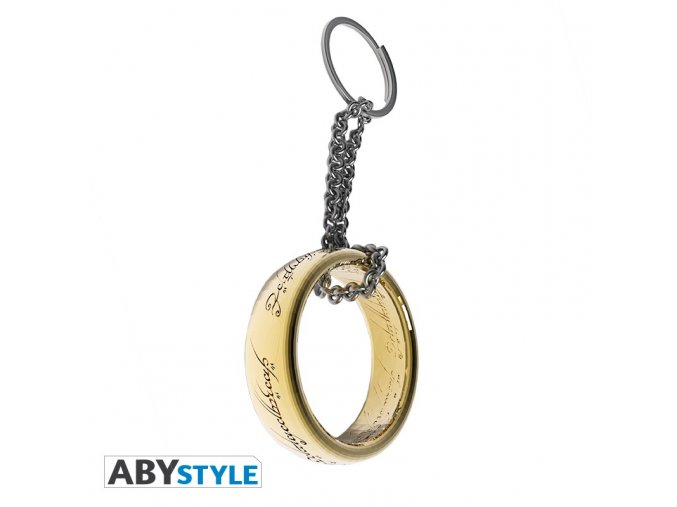 lord of the rings keychain 3d ring x2