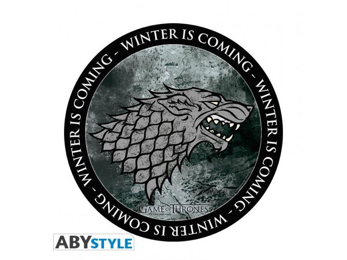 game of thrones mousepad stark in shape