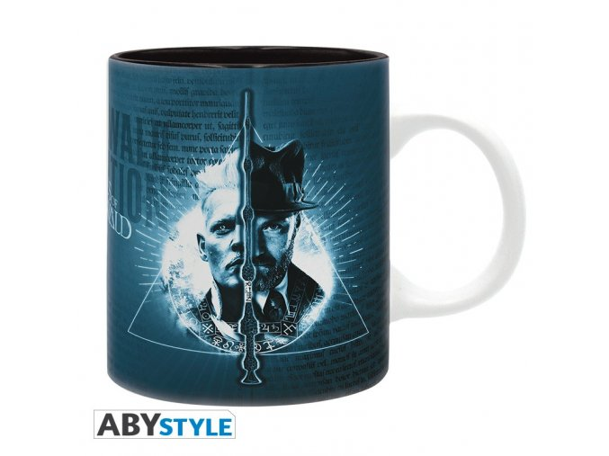 fantastic beast mug 320 ml pick a side subli with box x2