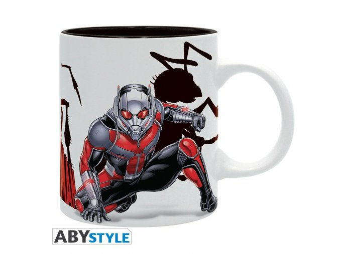 marvel mug 320 ml ant man ants subli with box x2
