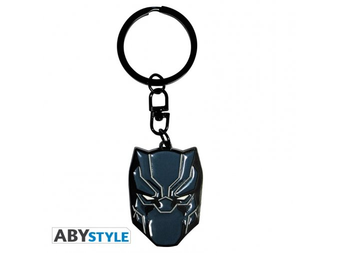 marvel keychain black panther x4