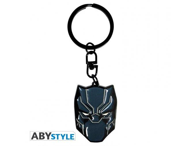 marvel keychain black panther x4