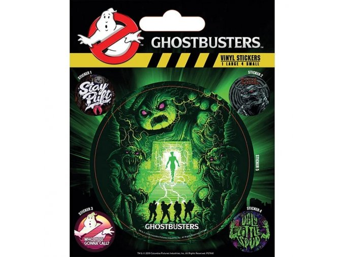vinylove samolepky ghostbusters ghosts and ghouls 5ef0be1b04617