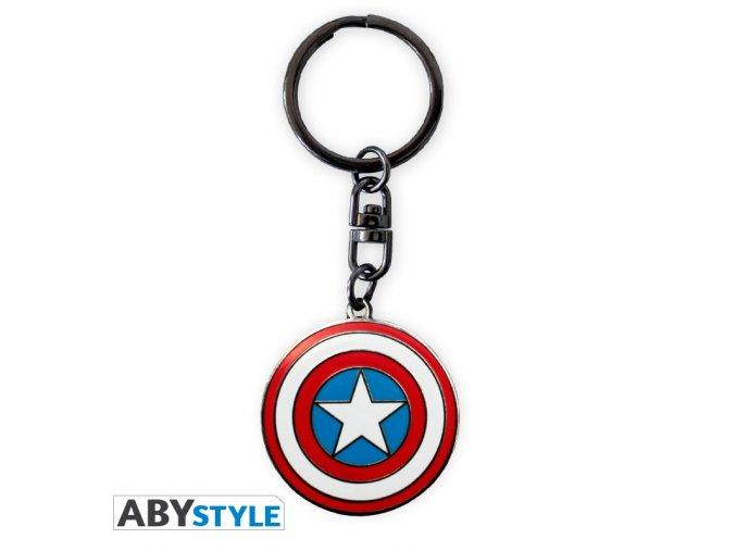marvel keychain captain america x4