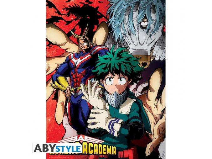 my hero academia poster deku vs tomura 52x38