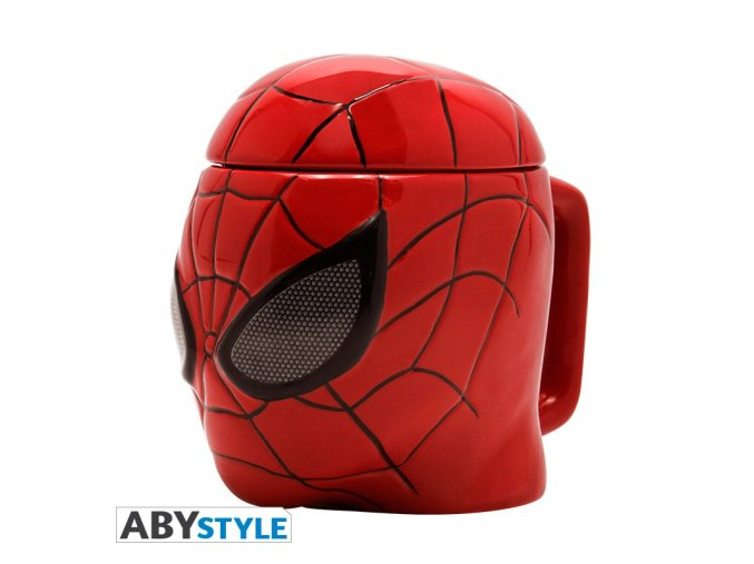 marvel mug 3d spider man x2