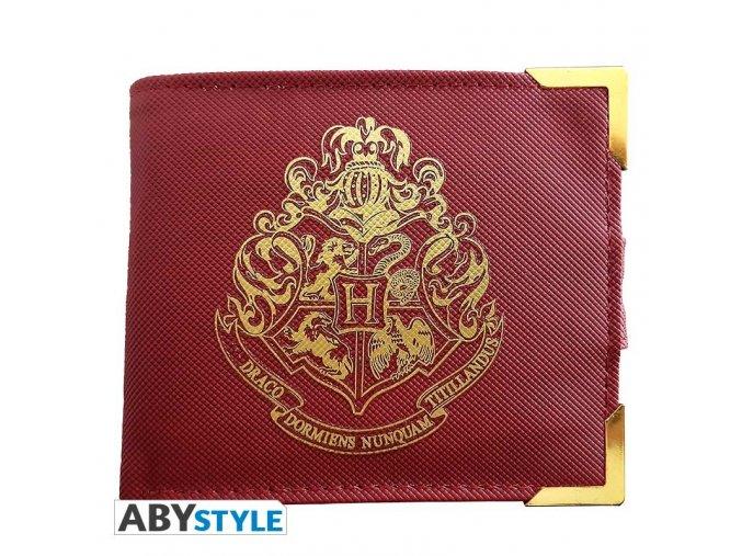 harry potter premium wallet golden hogwarts