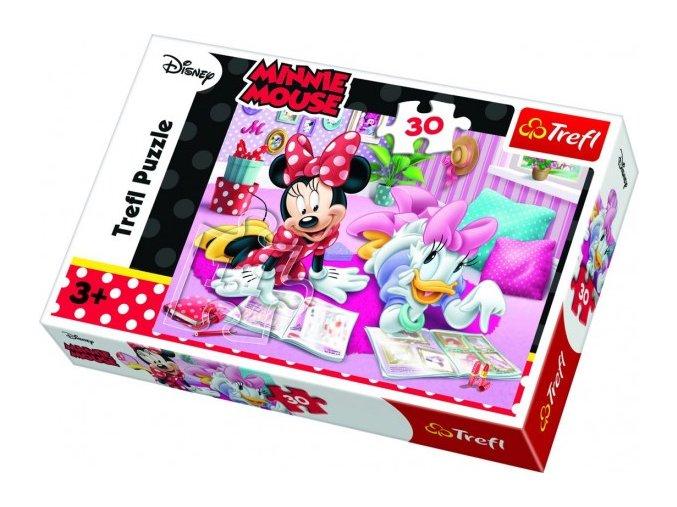 puzzle minnie daisy disney 1 l