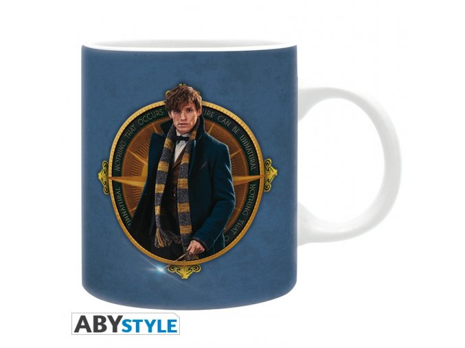 fantastic beasts mug 320 ml newt blue subli with box x2
