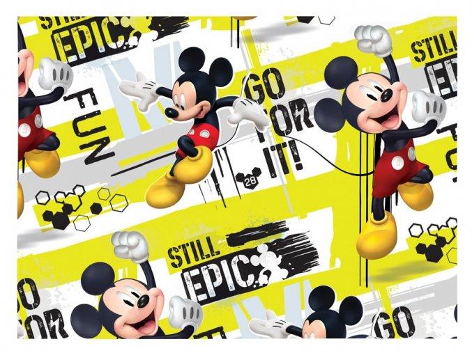 balící papír mickey mouse