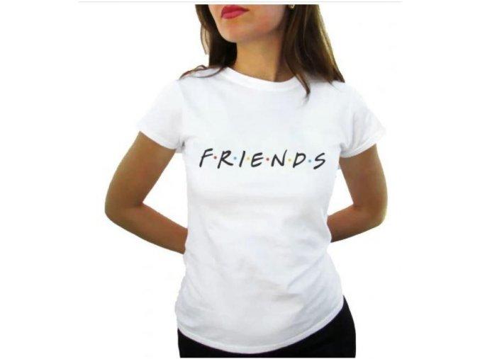 tricko friends pratele bile