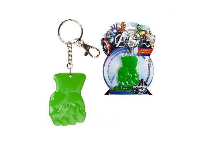 Marvel přívěsek na klíče Hulk Fist