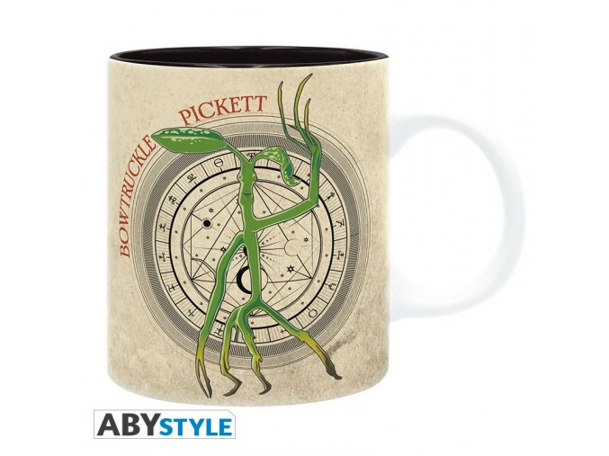 fantastic beasts mug 320 ml bowtruckle subli with box x2