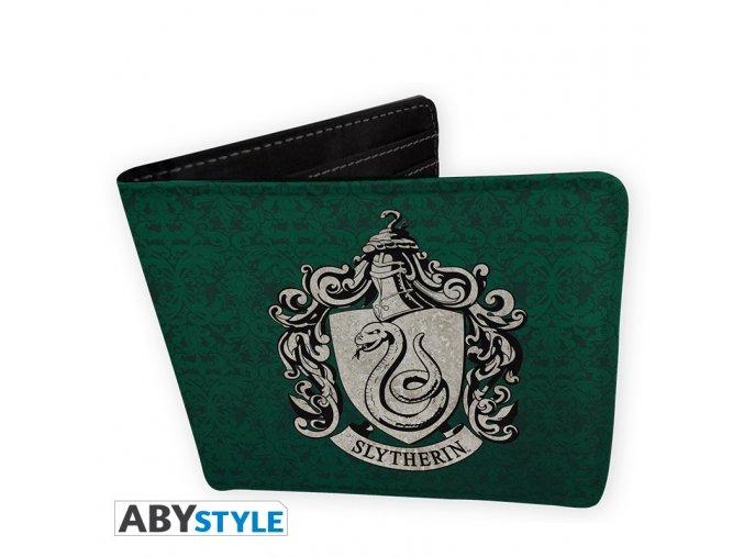 harry potter wallet slytherin vinyl