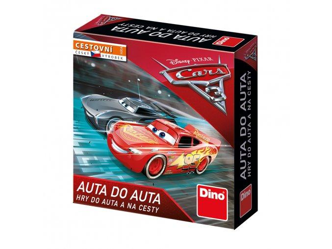 Hra dětská cestovní CARS Auta 3 Auta do auta