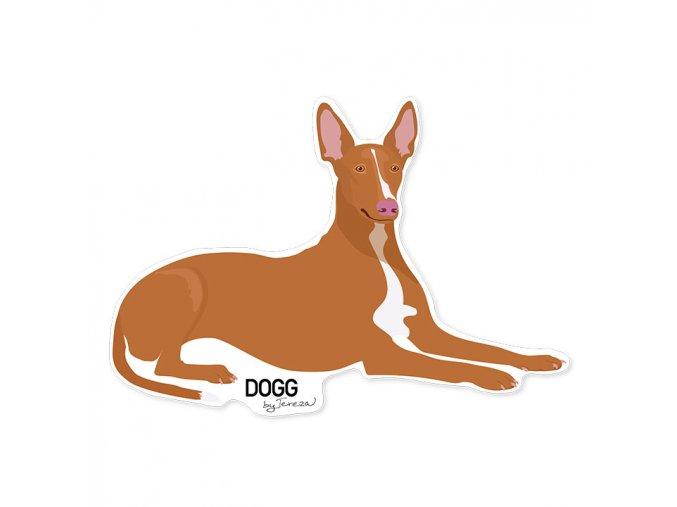 samolepka faraonsky pes telo1