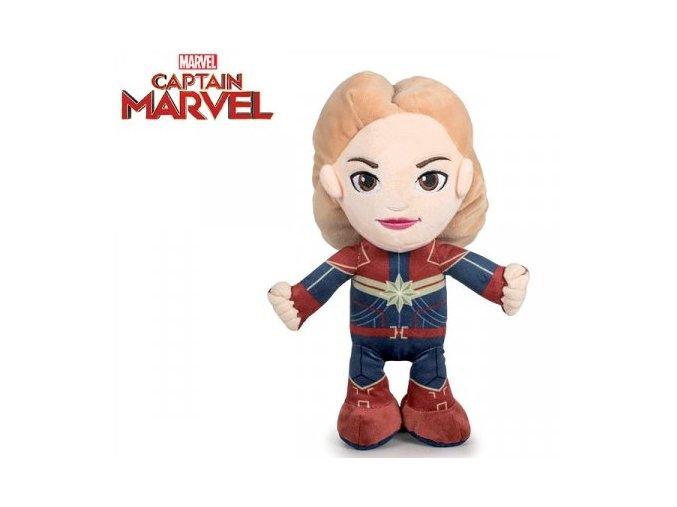 Plyšák Avengers - Captain Marvel 30 cm