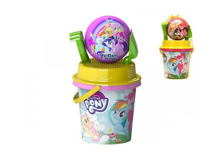 Sada My Little Pony na písek 5 ks