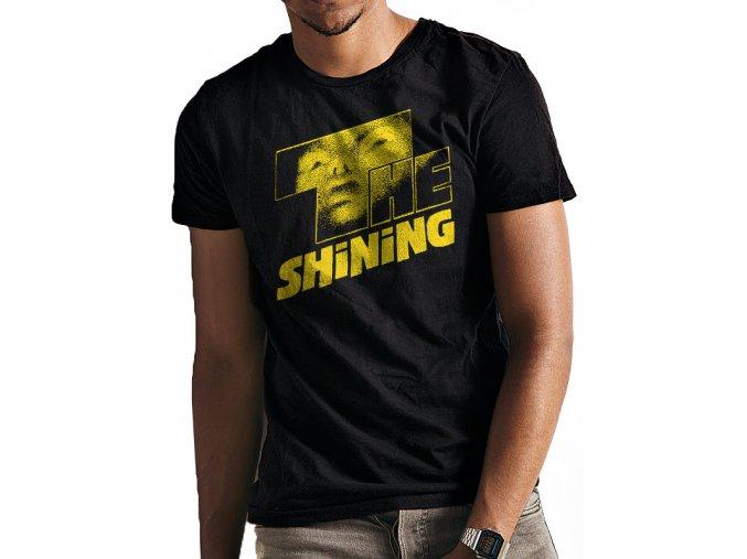Tričko Osvícení - Yellow Logo