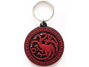 Přívěsek na klíče Hra o trůny - Targaryen