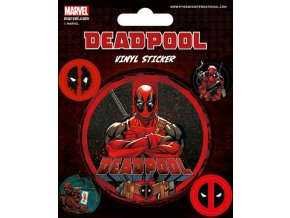 Samolepky Deadpool 5 kusů