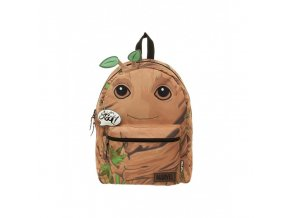 official marvel guardians of the galaxy i am groot groot styled reversible backpack bag
