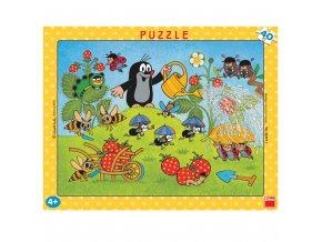 Krtek v jahodách 40 dílků puzzle