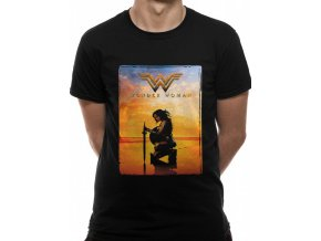 Wonder Woman tričko Sword