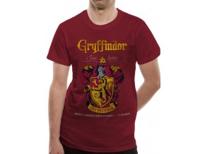 Tričko Harry Potter Gryffindor Quidditch