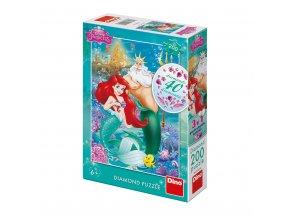 Malá mořská víla Ariel 200 dílků puzzle