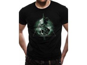 Fantastická zvířata tričko Deathly Hallows Split
